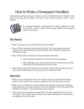 """Student Packet & Projects for the Novel """"Cages"""" By Peg Kehret"""