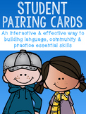 Student Pairing Cards