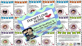 Student & Parent Love Note Bundle (Notes of Inspiration and Gratitude)