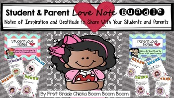 Student & Parent Love Note Bundle (Notes of Inspiration an