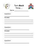 Student/Parent Questionnaire for Back-to-School Night