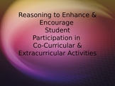 Student Participation in Co-Curricular & Extracurricular Activities