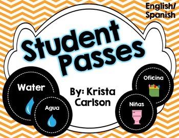 Student Passes (English/Spanish)