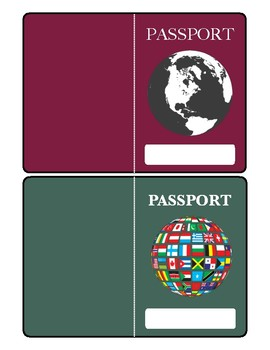 Student Passports - for social studies or keeping track of skills