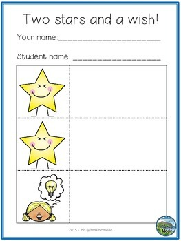 Student Peer Assessment Freebie [English & Norwegian]