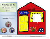 Companion Activity Book to SCHOOL IS NEW TO ME (ENG-SPAN) *PAPERBACK*