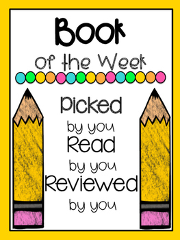 Student Book of the Week