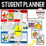 Student Planner - 2017  Older and Primary Version