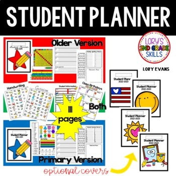 Student Planner - 2019  Older and Primary Version