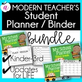 Student Planner Bundle