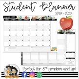 Student Planner | Editable Planner w/ FREE Updates | 3rd grade and UP!