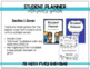 Student Planner - Editable and Yearly Updates
