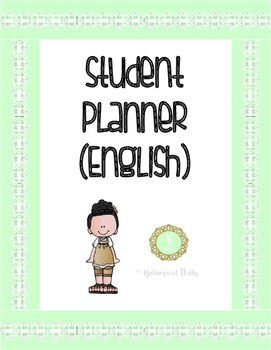 Student Planner (English)