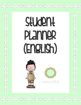 Student Planner (English)