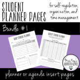 Student Planner Pages Bundle #1