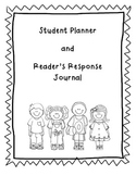 Student Planner / Reader's Response Journal Combo