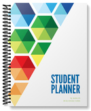 Student Planner - Undated (hexagon cover)