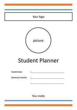 Student Planner for K-1-2