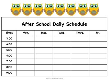 Student Planner for Wise Owls