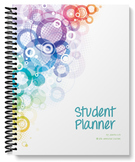 Student Planner - undated (abstract circle cover)