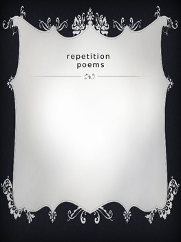 Student Poetry Anthology Book Cover and Chapters