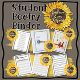Student Poetry Binder: A Poem of the Month Organizational System