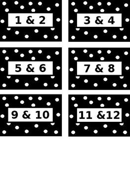 Student Portfolio/Bin Labels
