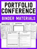Student Portfolio Conference Binder Materials