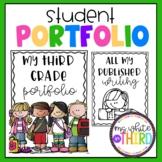 Student Portfolio Content Divider Pages
