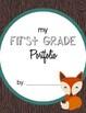 Student Portfolio Covers - 1st Grade