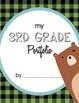 Student Portfolio Covers - 3rd Grade