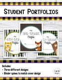Student Portfolio Covers - Lower Elementary Bundle