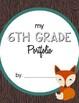 Student Portfolio Covers - Upper Elementary Bundle