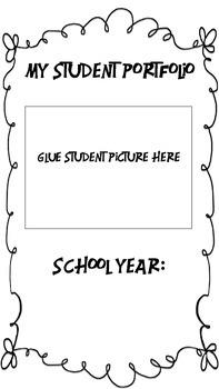 Student Portfolio Dividers