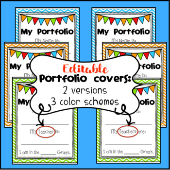 Student Portfolio Materials With Editable Cover Pages By Tally Tales Literacy,Easy And Beautiful Tattoo Designs For Girls