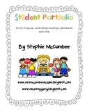 Student Portfolio Packet