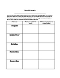 Student Portfolio Self-Assessment Sheet