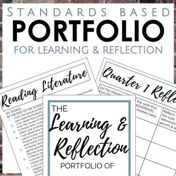 Student Portfolio for 7th Grade Reading and Writing
