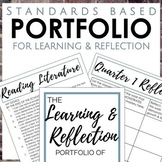 Distance Learning Student Portfolio for 7th Grade Reading and Writing