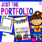 Student Portfolios for Preschool, Pre-K, and Kindergarten