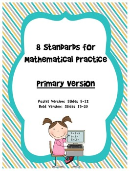Student Posters for Standards for Mathematical Practice