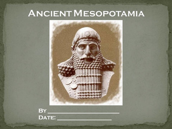 Ancient Mesopotamia Research Report (PowerPoint or Video)