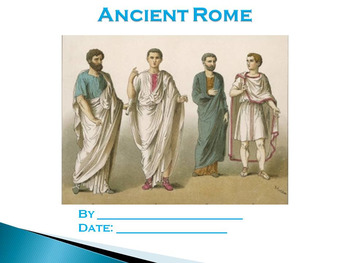 Ancient Rome Research Report (PowerPoint or Video)