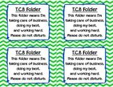 Student Privacy Folder