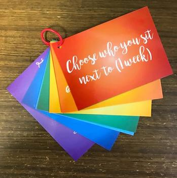 Student Prize Cards - Fun prizes that won't cost you a thing!