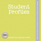Student Profile Forms: Beginning or End of the Year Inform