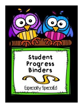 Student Progress Binder