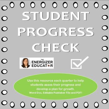 Student Progress Form