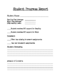 Student Progress Report