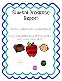 Student Progress Report - Early Childhood